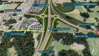 Christchurch Northern Corridor (CNC) - How to use the Winters Road subway and onramp