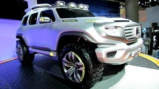 Mercedes Benz Ener-G-Force Concept 2012 Videos