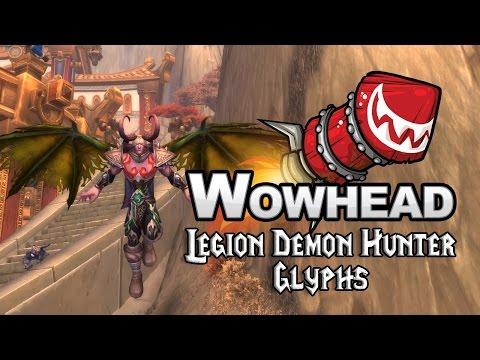Legion Demon Hunter Glyphs