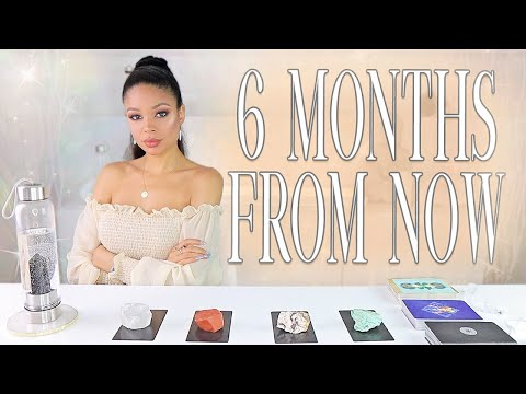 ⚡️(PICK A CARD)⚡️6 MONTHS FROM NOW! ✨🔮Psychic Reading🔮✨