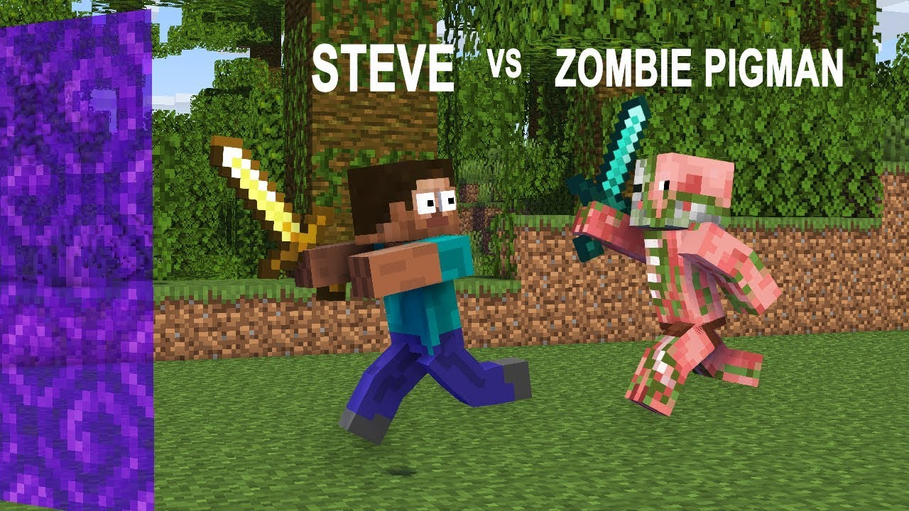 Steve Adventures Part 11: Zombie Apocalypse - Minecraft Animation