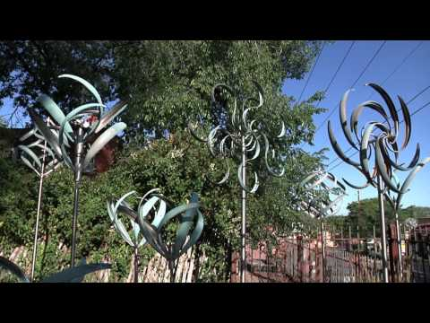 Tour our Sculpture Garden at Mark White Fine Art in Santa Fe!