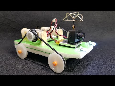 How to make a mini FPV RC Car - FPV RC Tank