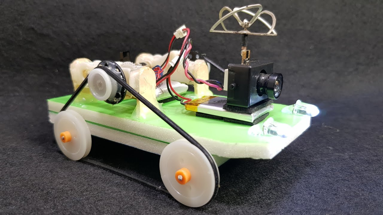 How to make a mini FPV RC Car - FPV RC Tank