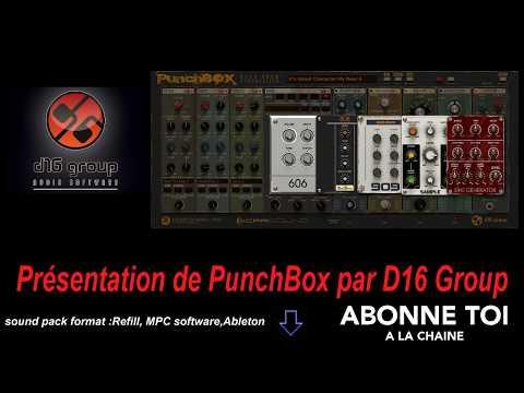 """abc du beatmaking """"#propellerheads Présentation de #PunchBox par #D16Group"""