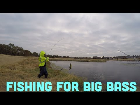 Fishing For Big Bass! - Tulsa, Oklahoma