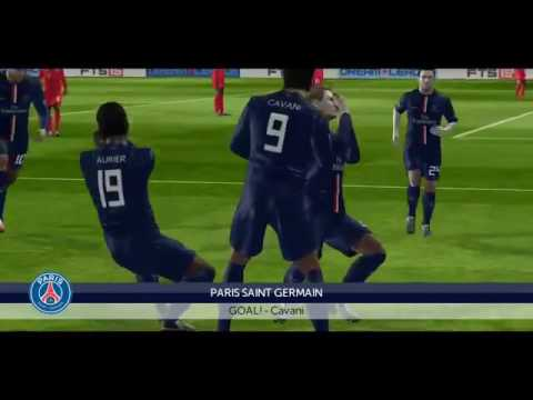 First touch soccer 2015 iPhone Gameplay •PSG vs Bayern Munich UEFA champions league second