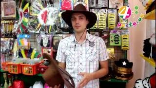 видео ковбойская шляпа