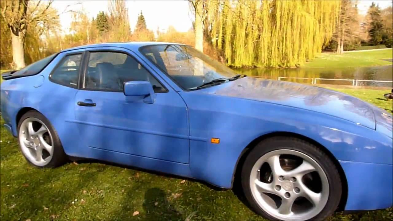porsche 944 s2 rs racing blue youtube. Black Bedroom Furniture Sets. Home Design Ideas
