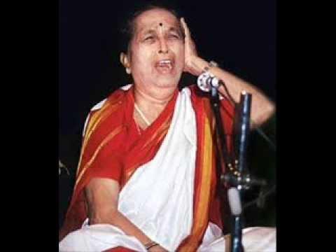 Shrimati Gangubai Hangal - Raga Malkauns # 2, N J  1979