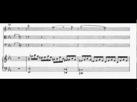 Mozart - Piano Quartet KV 493 - I mov. Allegro - Quartetto Anthos