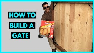 How to Build a Gate - Homax Easy Gate Kit