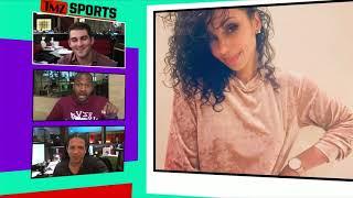 Van Lathan Shoots His Shot with Singer Mya on TMZ Live! | TMZ Sports