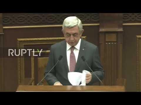 Armenia: Parliament elects ex-president Sargsyan as PM