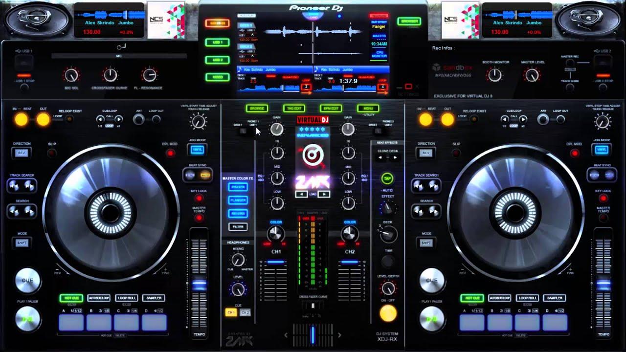 VIRTUAL DJ PIONEER CONG