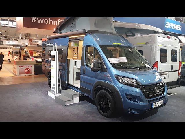 CamperTobi - Bei Hymer mit dem HymerCar Free 600 - CMT 2019 in Stuttgart Walkthrough