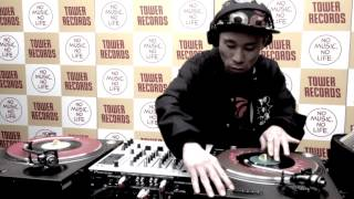 DJ Koco Live @ Record Store Day 2014, Tower Record Shibuya, Tokyo Pt.1