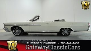 1963 Pontiac Bonneville Gateway Classic Cars Chicago #776
