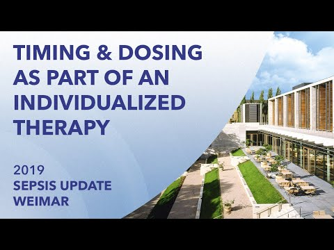 Timing and dosing as part of an individualized therapy in septic shock | Sepsis Update 2019