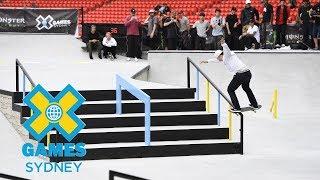 Shane O'neill wins bronze in Men's Skateboard Street  | X Games Sydney 2018