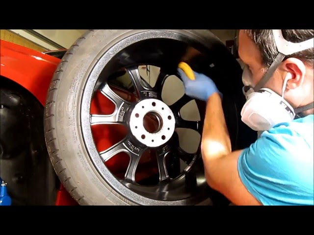 Ceramic Sealant to Block Brake Dust on BMW Wheels