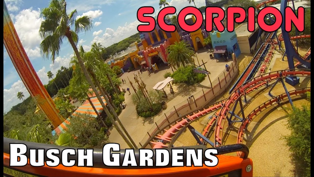 Scorpion@Busch Gardens - YouTube