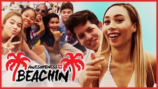 MyLifeAsEva NOT MY ARMS CHALLENGE with Hunter - Beachin