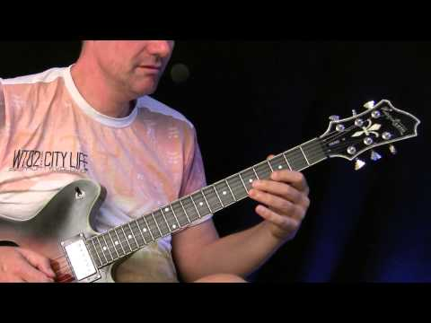 Guitar Lesson : Jazzblues ( Birth of the cool )