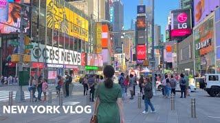 뉴욕 디자이너 일상. 뉴욕 타임스퀘어 현재상황, 호텔 …