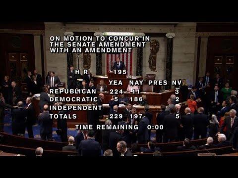 Gobierno de EEUU, paralizado al no aprobar nuevo presupuesto