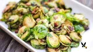 Roasted Brussels Sprouts With Bacon Recipe - Honeysuckle Catering