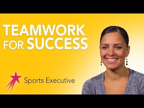 Sports Executive: Importance of Teamwork - Rebekah Salwasser Career Girls Role Model