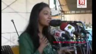 Upeksha Swarnamali addresses political rally