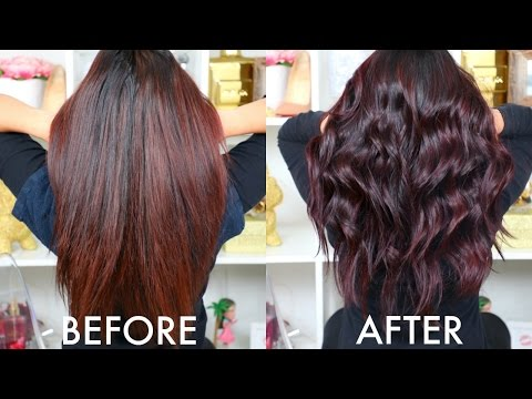 HOW TO: RETOUCHING MY HAIR AT HOME! | BEAUTYYBIRD