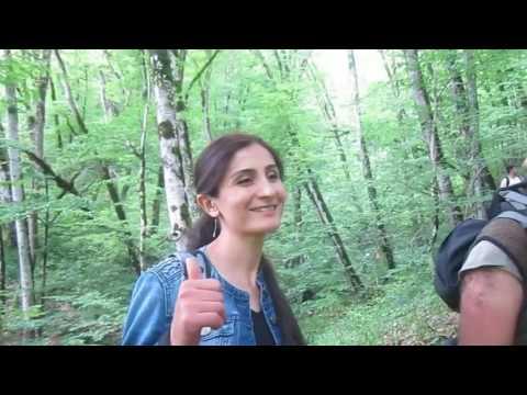 "Qabala ""7 gozel"" waterfall hiking (Vertical Travel Azerbaijan)"
