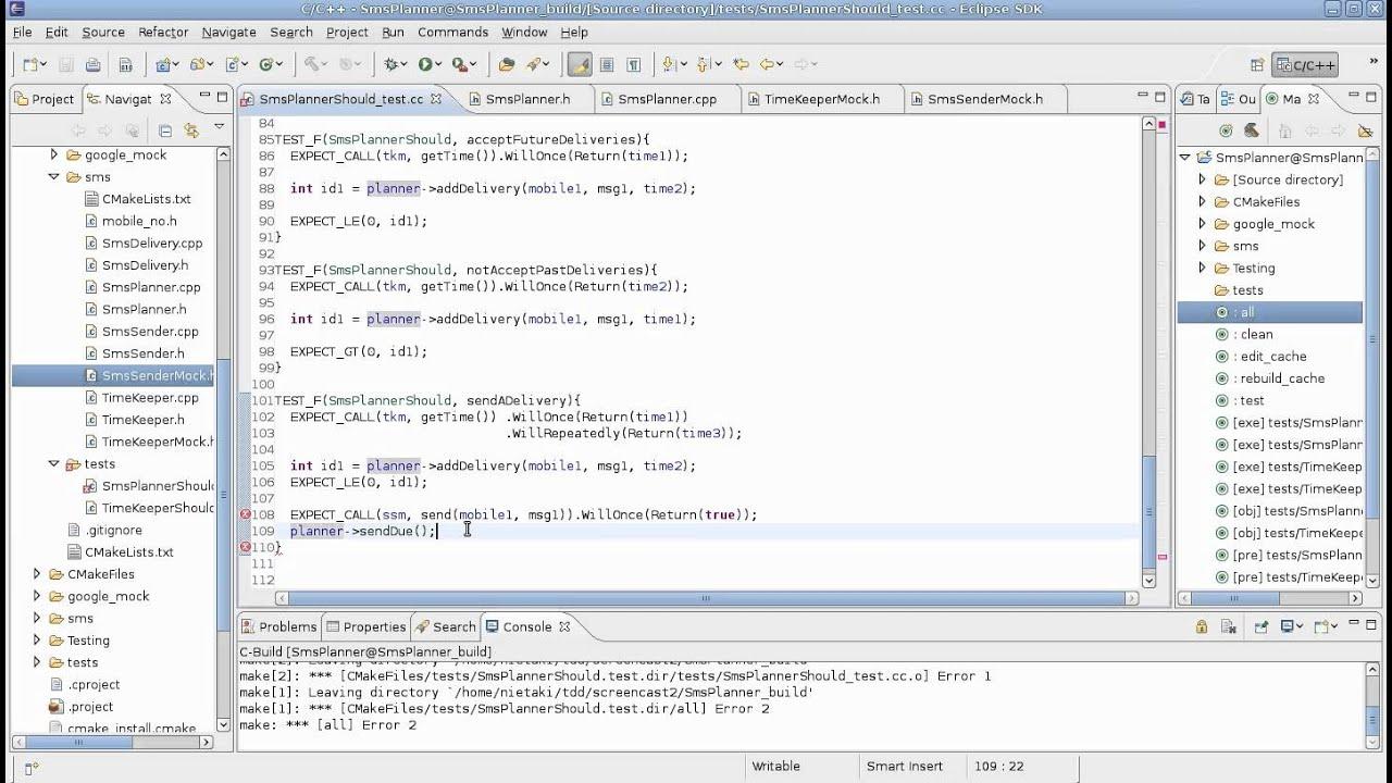 TDD w C++ przy użyciu biblioteki google mock cz  2 - programowanie