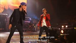 Justin bieber and jaden Smith never say never ft live at Madison Square garden