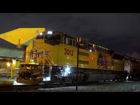Union Pacific Brand New Tier 4 Locomotive on Amtrak