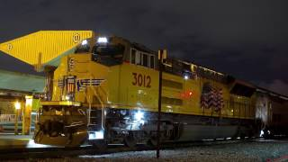 Union Pacific Brand New Tier 4 Locomotive on Amtrak
