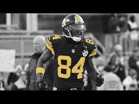 Antonio Brown Highlights Black and Yellow