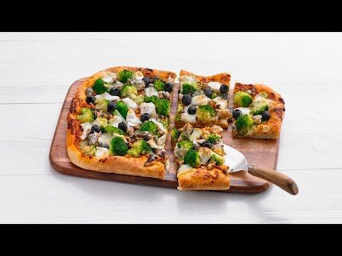 Plaatpizza met sardientjes – Allerhande