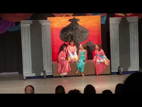 Palace walls - Aladdin Jr - The Culture House