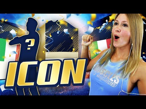OMG! INSANE ICON IN A PACK!! FIFA 18 ULTIMATE TEAM!