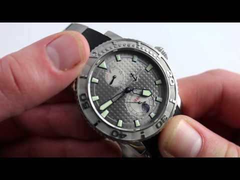 Ulysse Nardin Maxi Marine Diver 263 33 391 Luxury Watch Review