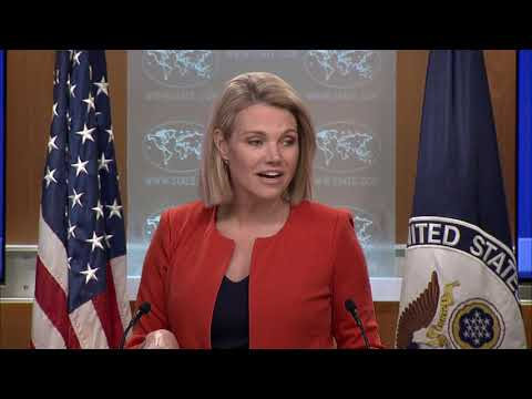 Department Press Briefing - September 20, 2018
