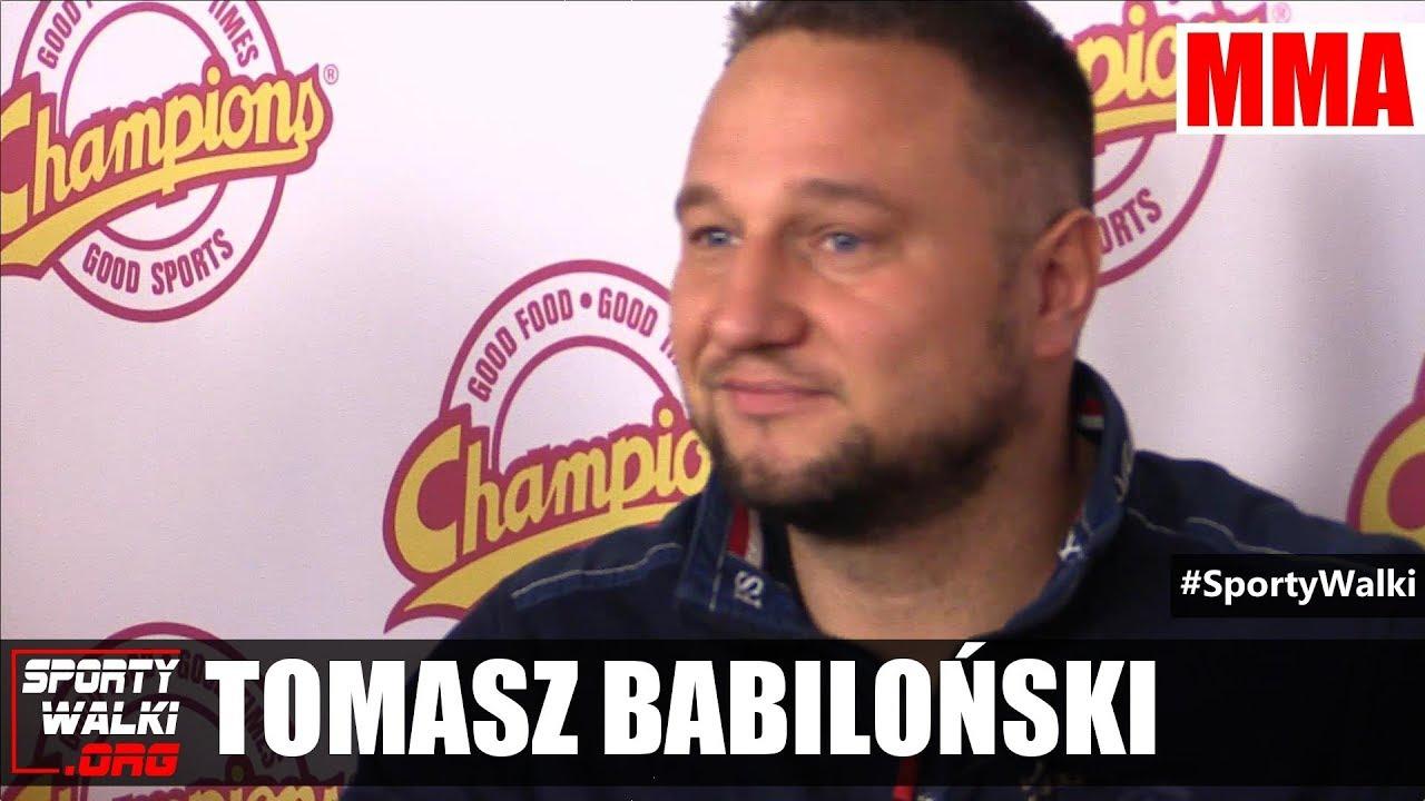 Tomasz Babiloński: Krzysztof Zimnoch na pewno wystąpi w MMA