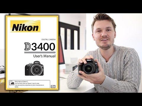 Nikon D3400 Users Guide