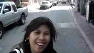 Thai lady introducing pattaya