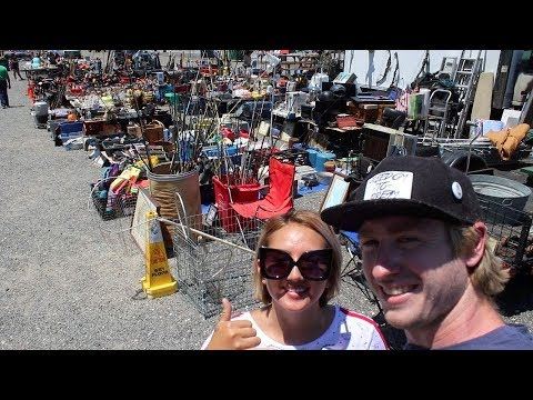 Flea Market Hunting In New Jersey!