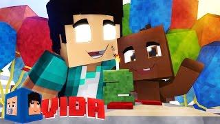 Minecraft Vida: ANIVERSÁRIO DO BEBÊ !!! #41